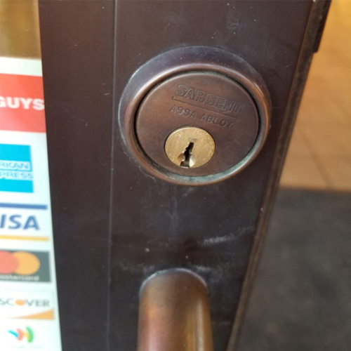 Picture of door lock cylinder Extra Locksmith Sandy