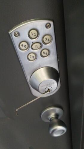 Unlock Deadbolt
